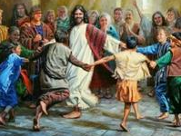 Yeshua Dancing Children